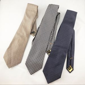 • Lot Of Donald J. Trump Calvin Klein Silk Ties •